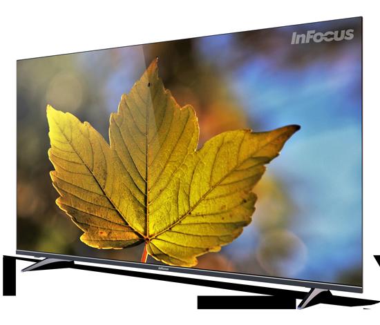 43 inch infocus infinity series tv